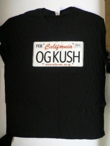 OG Kush Black T-shirt